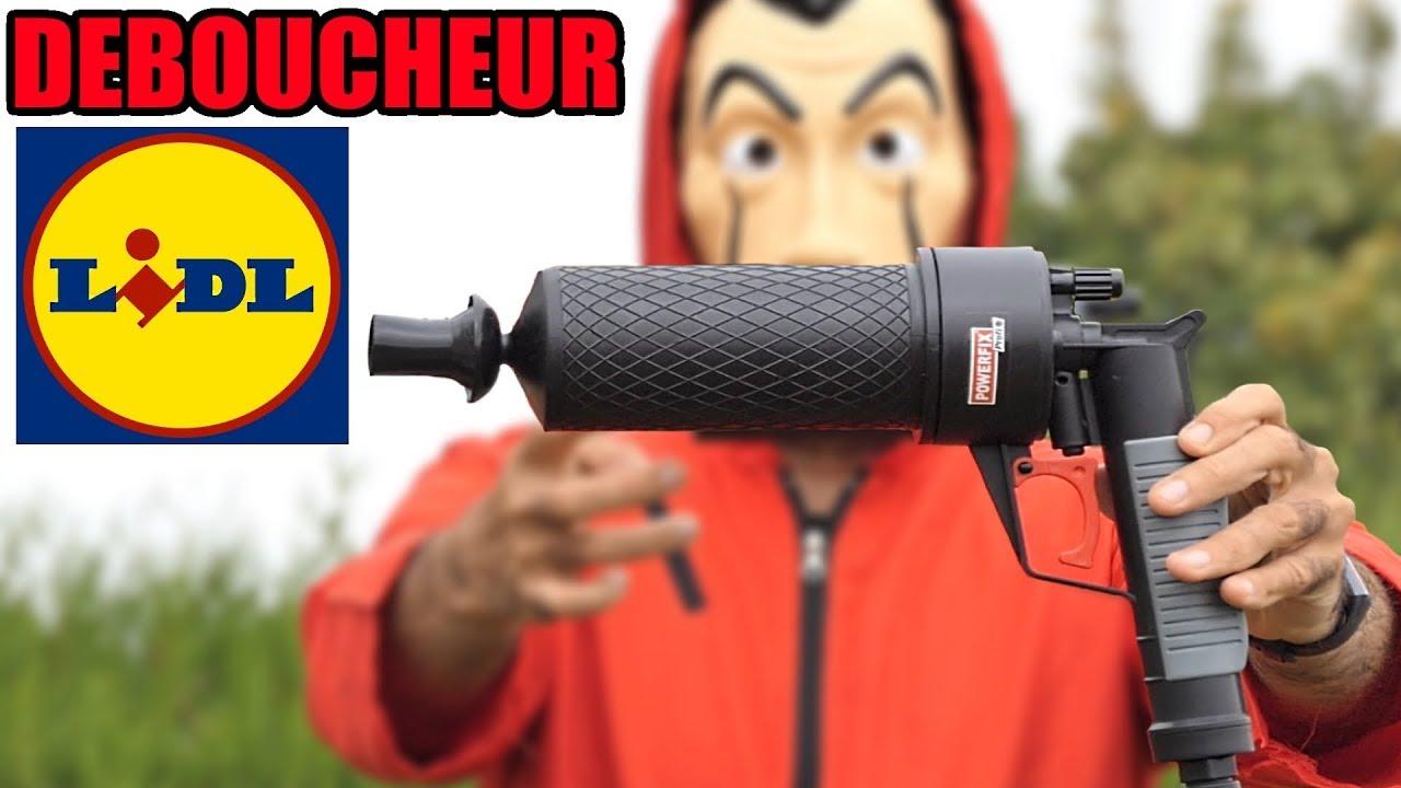 Lidl Deboucheur De Canalisation Probleme Wc Evier Baignoire Douche Bouche Eau Ne Couple Plus Youtube