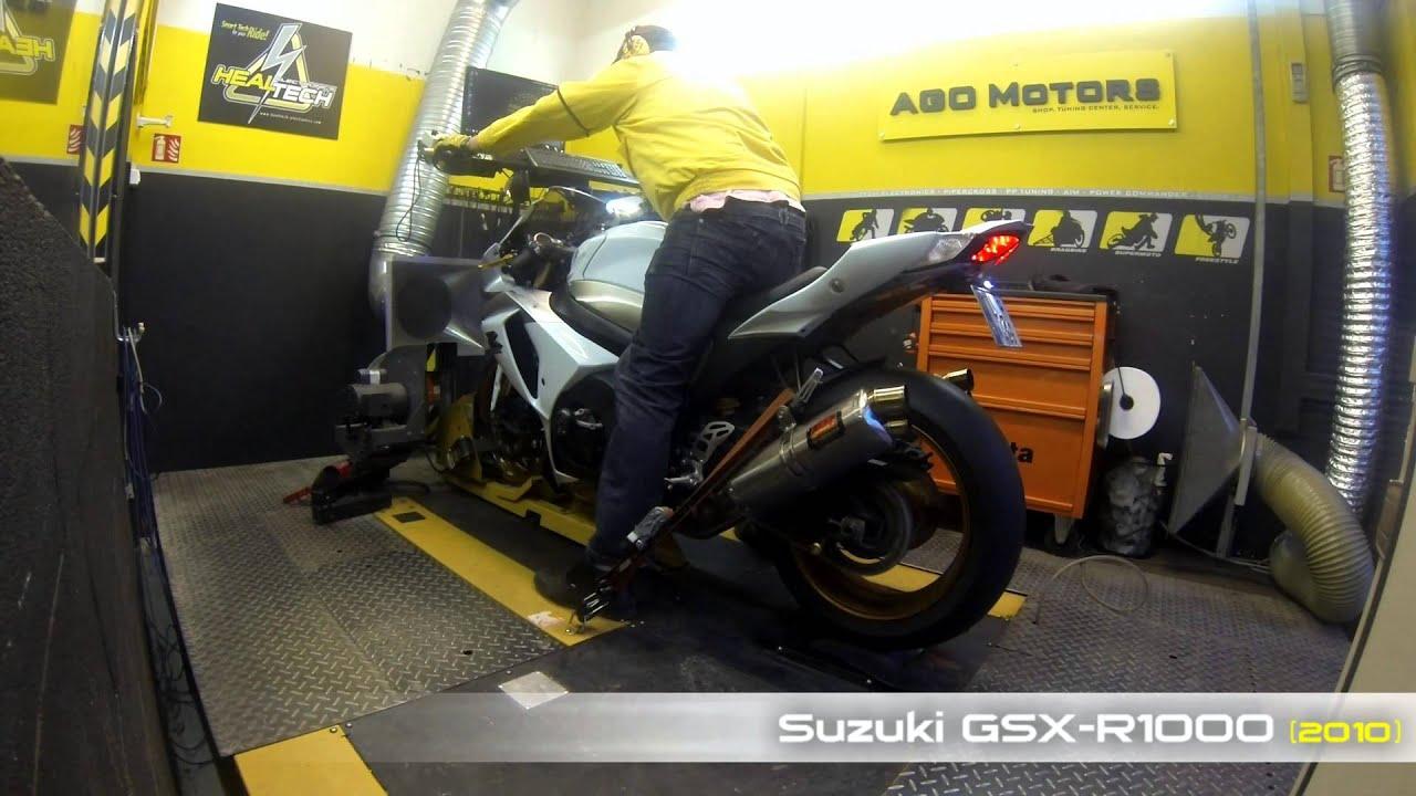 Healtech Quickshifter Easy Dyno Run - Suzuki Gsx-R1000 (2010)  Ago Motors