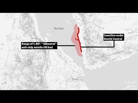 Maritime threat from Houthi Rebels in Yemen