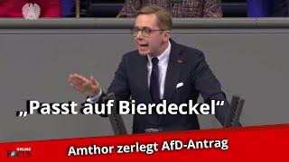 Amthor zerlegt Nord-Stream-2-Antrag der AfD im Bundestag