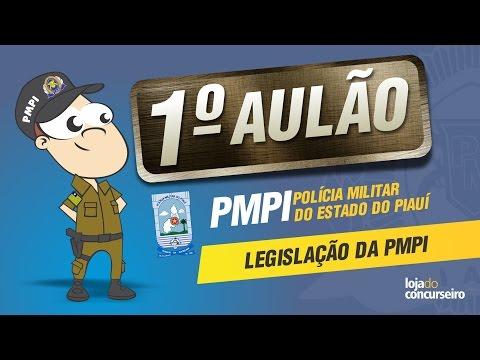 🔴 AULÃO 01 - Estatuto dos Militares do Piauí - Lei nº 3.808/81 - PMPI (PM PI) - Emerson Castro