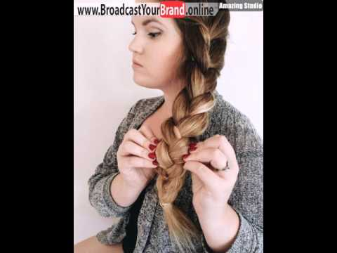 Loose Side Braid For Long Hair Youtube