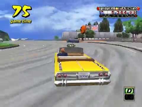Arcade Longplay [242] Crazy Taxi