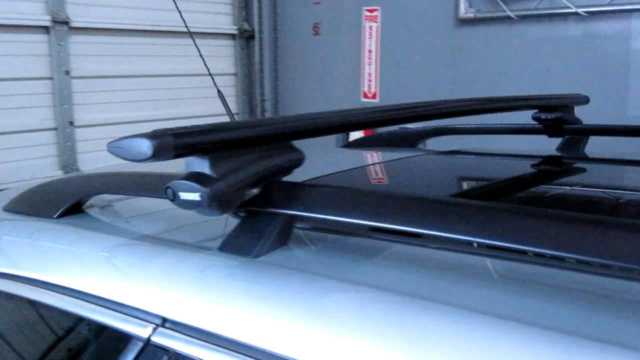 Volkswagen Jetta Sportwagen Thule Aeroblade Roof Rack By