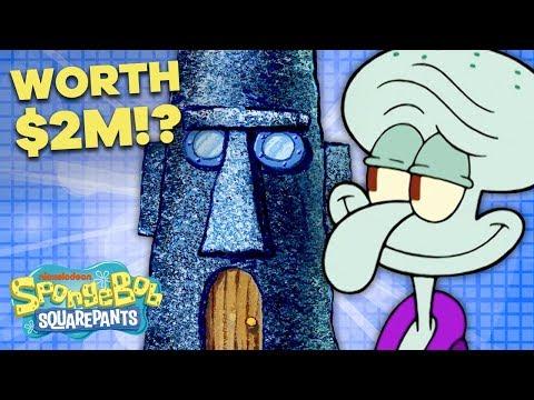 How Much is Squidward's Home Worth? 🗿 Bikini Bottom Dream Homes | SpongeBob SquarePants