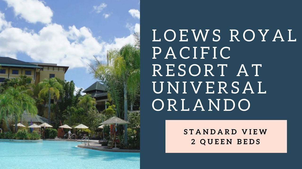 Loews Royal Pacific Resort At Universal Orlando Standard Queen Room