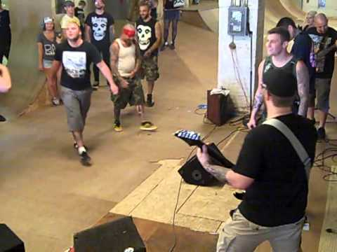 HARDTIME Live at Red Alert Skate Shop Dover, NH 8/11/13