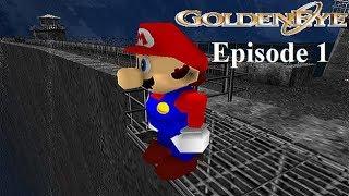 GoldenEye with Mario characters (Walkthrough FR) épisode 1: Barrage (00 Agent)