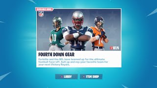 BUYING THE NEW FOOTBALL SKINS | FORTNITE BATTLE ROYALE | SPIKE AND JUKE