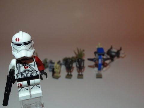 LEGO Star Wars Battle on Saleucami Review 75037 - YouTube