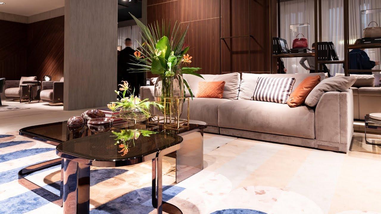 Fendi Casa. Итальянская мебель, кухни, аксессуары. iSaloni 2019