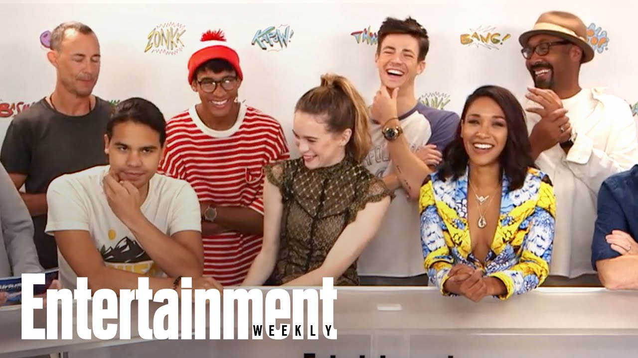 The Flash: Grant Gustin & Cast On 'Least Fun' Season 3 & Season 4 | SDCC  2017 | Entertainment Weekly