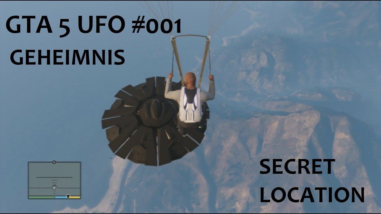 GTA 5 UFO #1 GEHEIMNIS SECRET LOCATION 100 % GTA 5 deutsch EASTEREGG