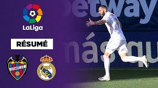 Résumé - La Liga : Benzema buteur, Courtois sauveur du Real !