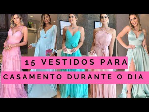 15 Vestidos Para Casamento Durante O Dia (madrinhas E Convidadas)