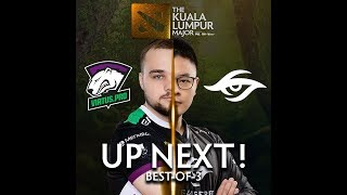 Team Secret vs Virtus.Pro Game 2 (BO3) The Kuala Lumpur Major