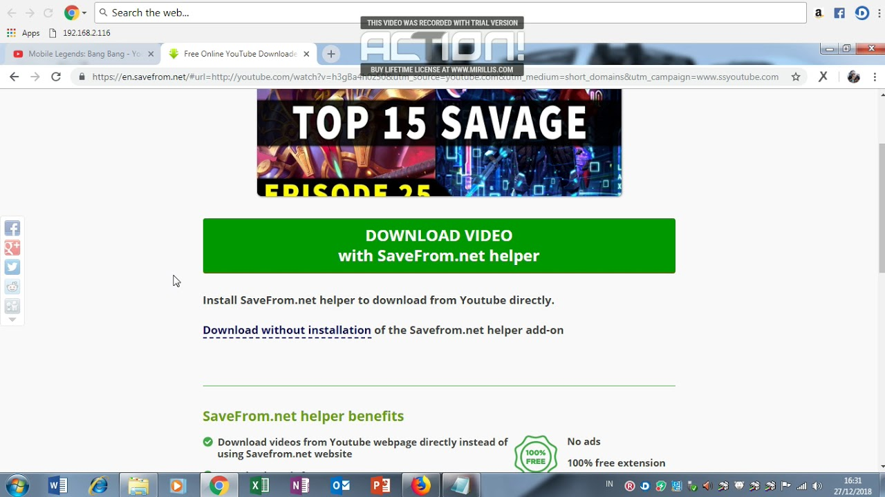 cara download video dr youtube