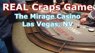 REAL Craps Game - Mirage Casino, Las Vegas, NV