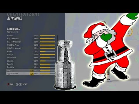 Can SANTA CLAUS Win A Stanley Cup In NHL 18?