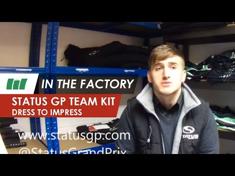 Kit out a GP3 team by Status Grand Prix | IN THE FACTORY