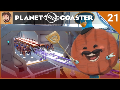 Let's Play Planet Coaster - Hard Mode - Part 21
