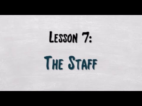 SightSinging Level 1 - Lesson 7: Introducing the Staff