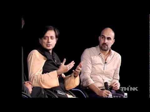 Hari Kunzru and Shashi Tharoor at THiNK 2011