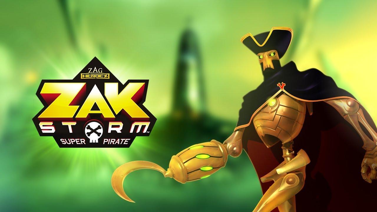 Zak Storm Meet Golden Bones Skullivar