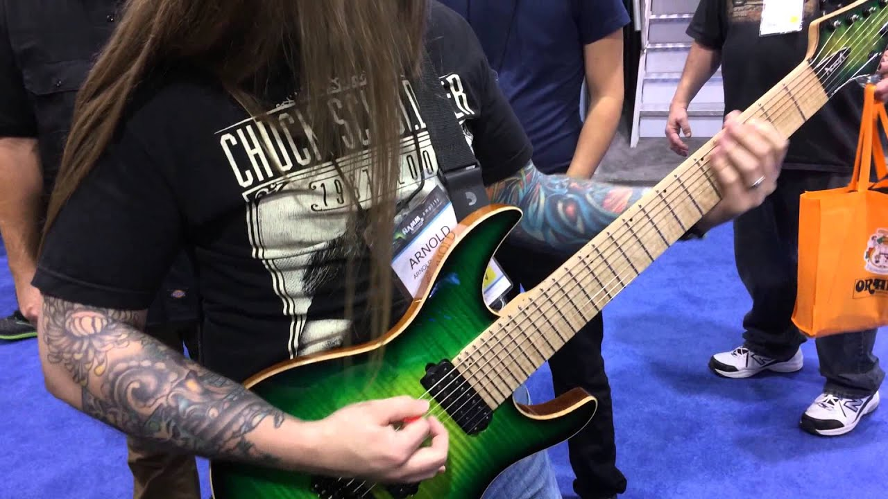arnold hablewitz colossus 8 string youtube