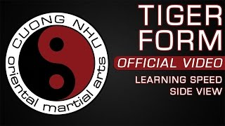 Cuong Nhu Tiger Form - Official Kata - Learning Speed - Side View