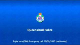 Audio of Triple Zero (000) Call - Ipswich Police Communications Officer helps to revive baby