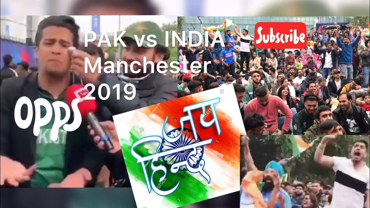 #Pakistan vs #india # #WorldCup2019 #Manchester  #Highlights #Celebration Cathedral Fans Chanting