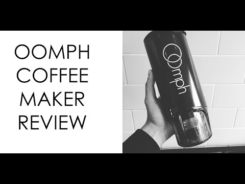 ommph Portable Coffee Maker Review @social@the-oomph.com