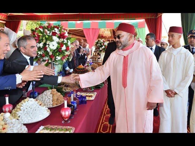 बादशाह मोहम्मद VI के सिंहासन के 20 वें वर्षगांठ पर  मोरोक्को में जश्न और संवाद