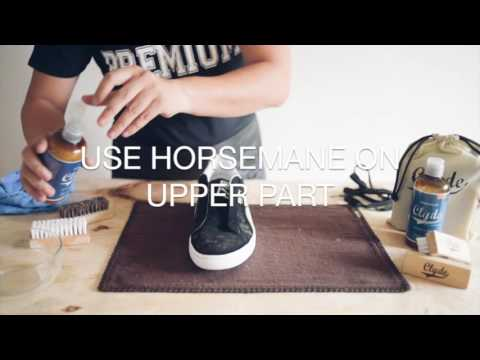How To Clean Suede with Clyde
