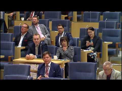 Swedish parliament 2018 - Migration and criminality