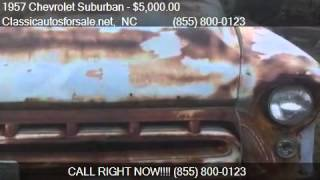 1957 Chevrolet Suburban  for sale in Nationwide, NC 27603 at #VNclassics