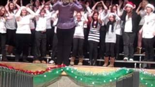Reindeer boogie Savannahs choir recital