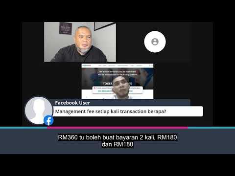 Berapa management fee setiap transaction?