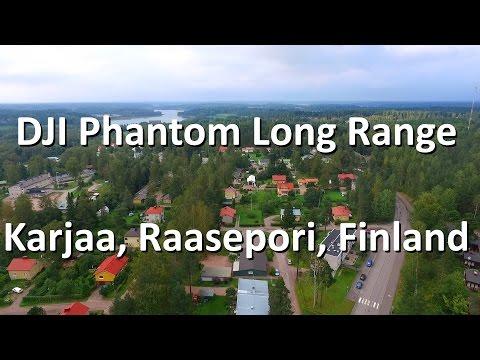 DJI Phantom Quadcopter Long Range Flying in Karjaa, Raasepori, Finland