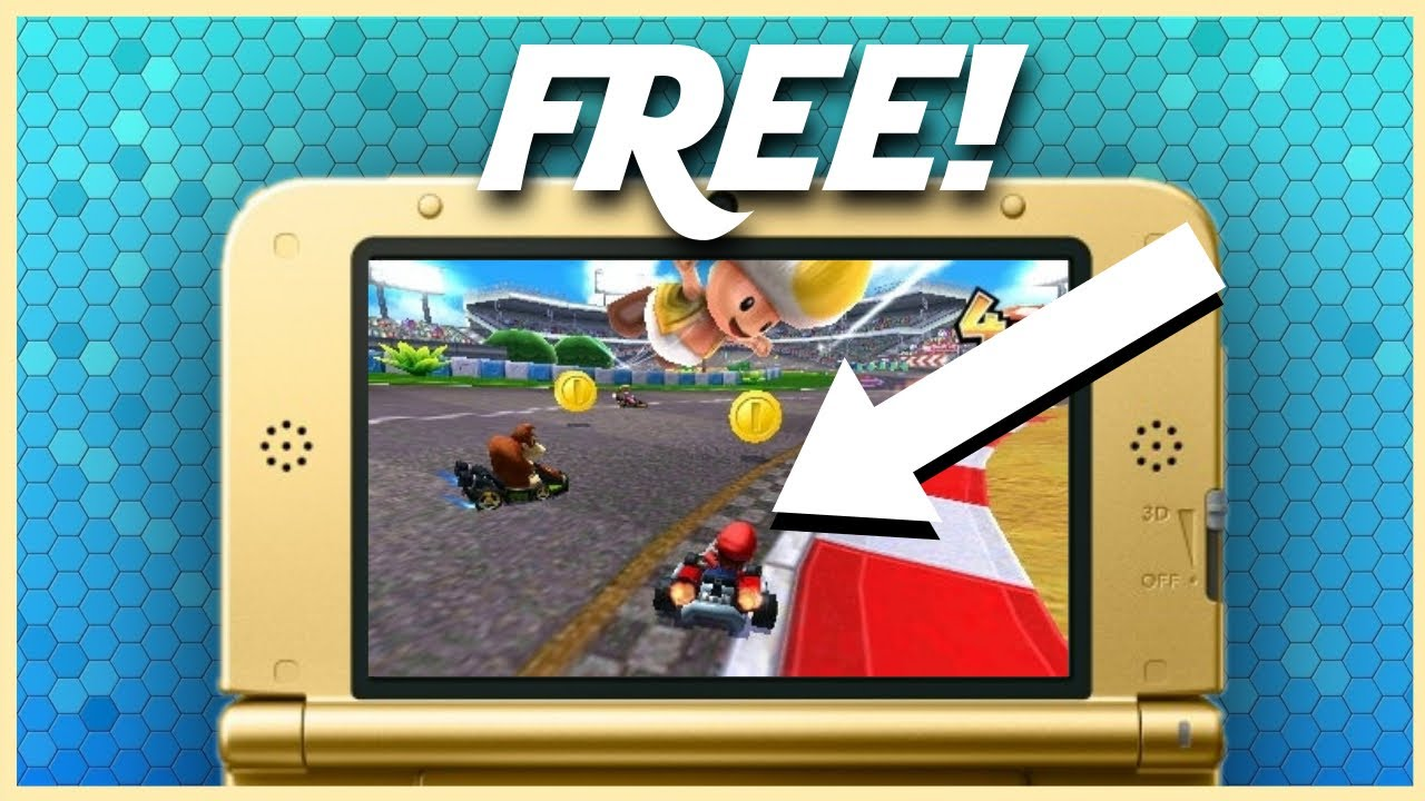 how to get free games on nintendo 3ds