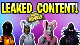 Fortnite Update LEAKED SKINS, BACK BLING & GLIDERS! Patch v3.4 Mobile, Xbox One, PS4 & PC