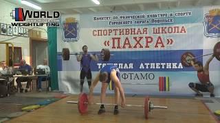 АНДРЕЕВ/ANDREEV(77) 85-90х-95/105-110-115х. Championship of Moscow region 05-06.05.2018.