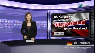Америка пойдет войной на Россию