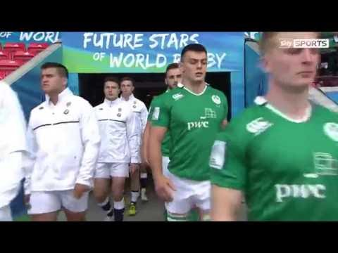 U20 Highlights: England 45 - 21 Ireland