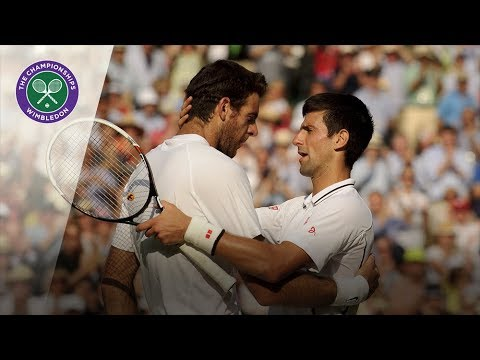 Novak Djokovic vs Juan Martin del Potro: Wimbledon semi-final, 2013 (Extended Highlights)