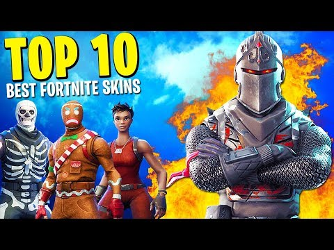 "Top 10 ""FORTNITE SKINS"" in Fortnite: Battle Royale"