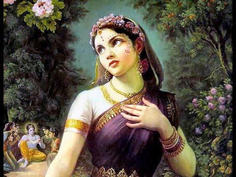 Chanting Radharani's Name