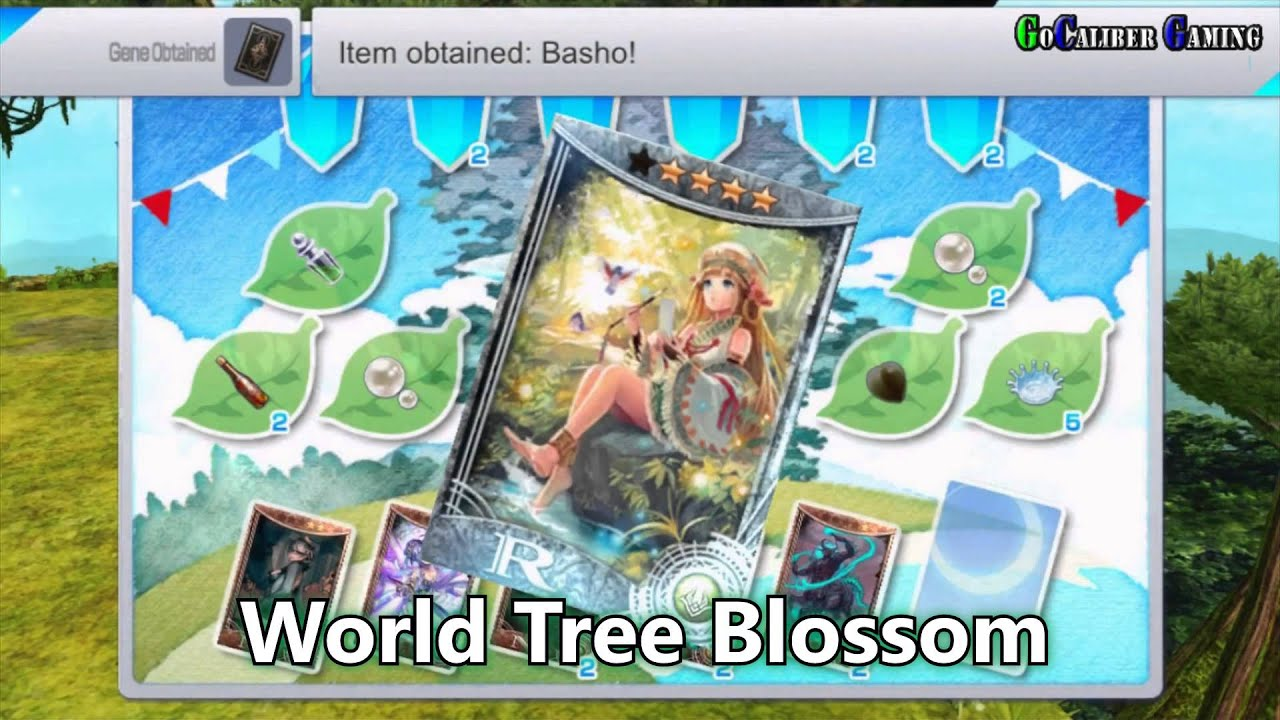 Chaos Rings 3 Android iOS Walkthrough Flower Picking Gifts Lily Bell  Firegrass World Tree Bossom Sno