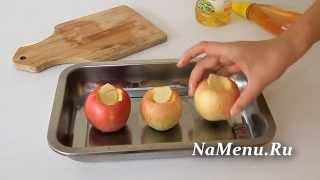 Печеные яблоки с медом и имбирем: рецепт в духовке